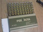PERFECTA AMMUNITION Ammunition .40 S&W AMMO